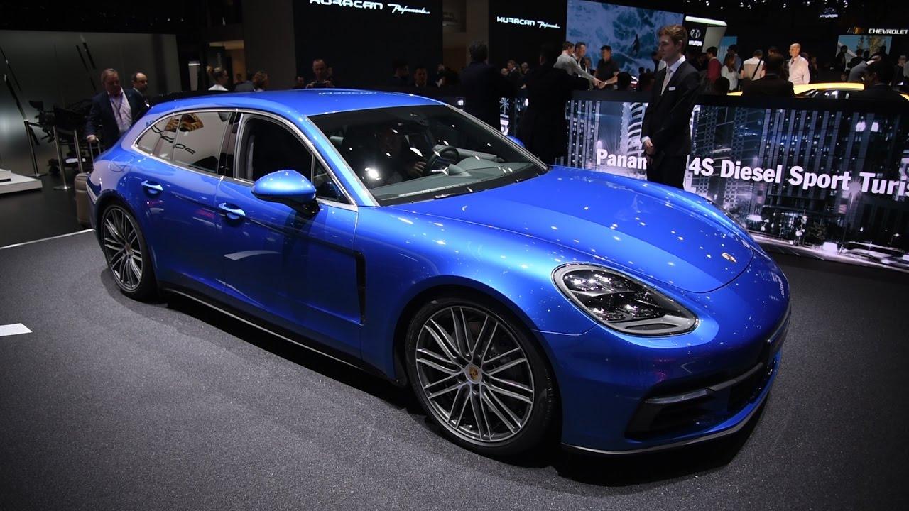 porsche panamera wagon 2018. Plain 2018 2018 Porsche Panamera Sport Turismo And Turbo S E Hybrid First Look  2017  Geneva Motor Show Intended Porsche Panamera Wagon