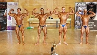 Bodybuilding NAC Israel 2012 - part 2