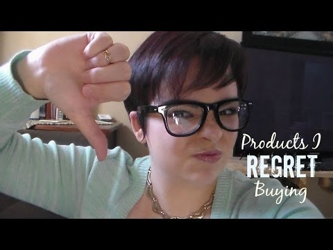 Products I Regret Buying // Dove, The Body Shop, Revlon, Herbal Essences, and more!