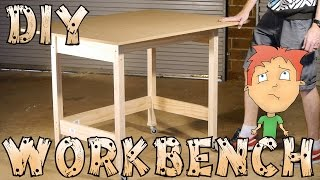 Diy Workbench On Wheels For Hobbies/craft - How-to
