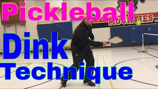 Pickleball Dink Technique - with Mark Renneson