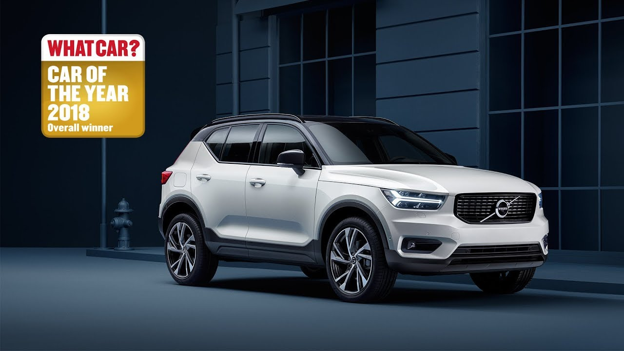 the new volvo xc40 what car car of the year 2018 youtube. Black Bedroom Furniture Sets. Home Design Ideas