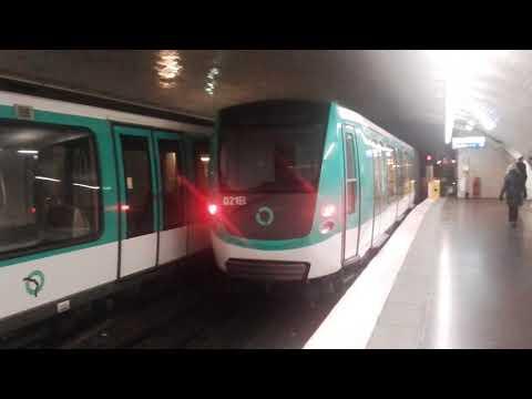 (PARIS) MF01 M2 - Porte Dauphine (RATP)