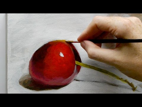 Beginners Acrylic Still Life Painting Techniques – Part 1