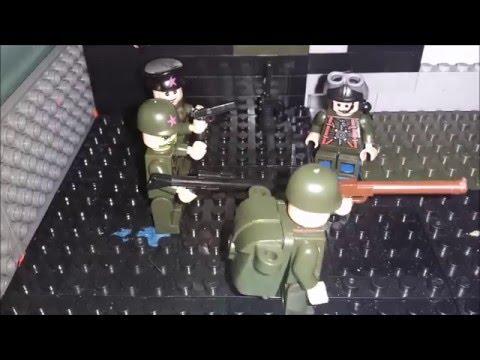 лего мультик(военная жизнь)№1