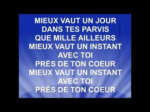 UN JOUR DANS TES PARVIS & TOUTE MA VIE - Luc Dumont