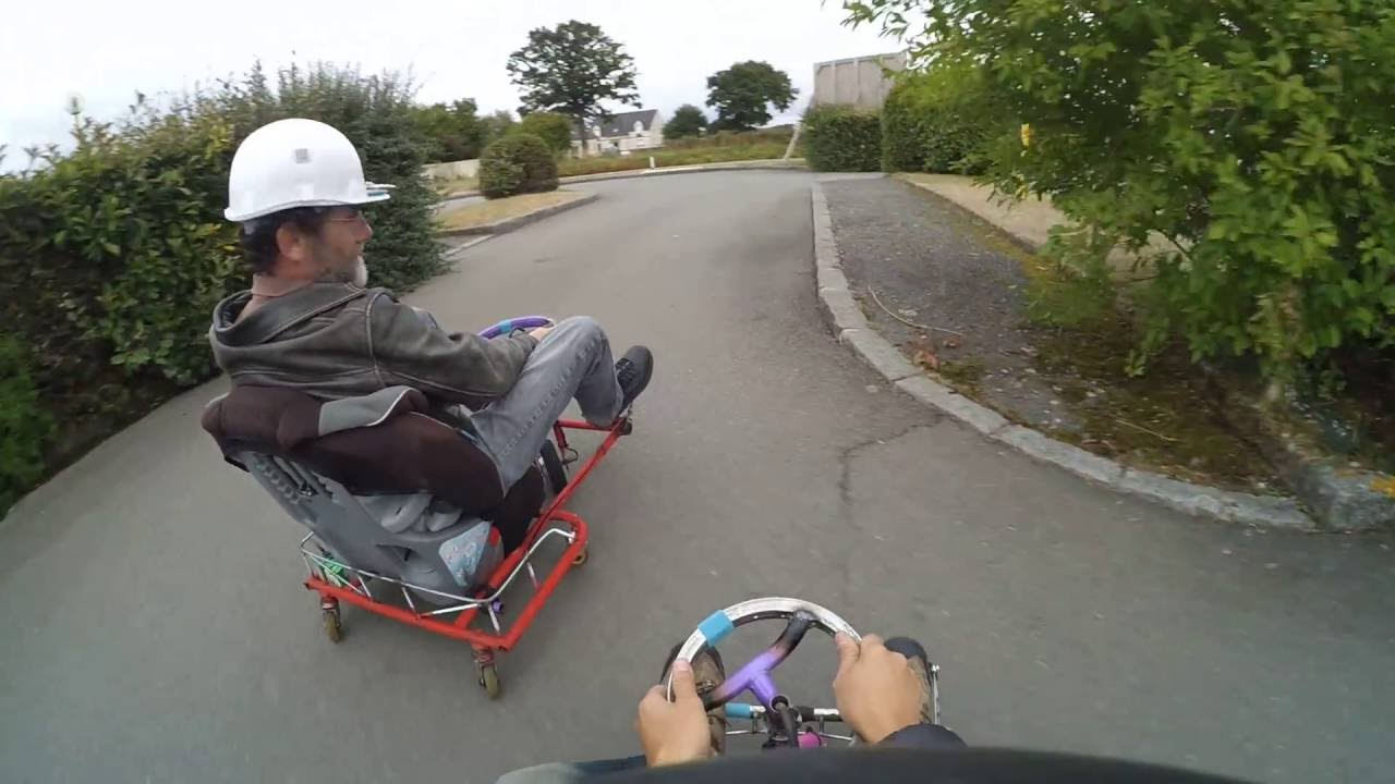 Crazy Cart Fait Maison Brushless Youtube