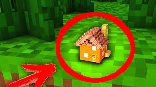99% ЛЮДЕЙ НЕ СМОГУТ РАЗГЛЯДЕТЬ ЭТОТ ДОМ! Маленький Дом В Minecraft - Майнкрафт