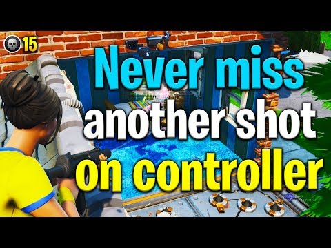 How To AIM BETTER On Controller Fortnite! How To Aim Better In Fortnite! Fortnite Tips
