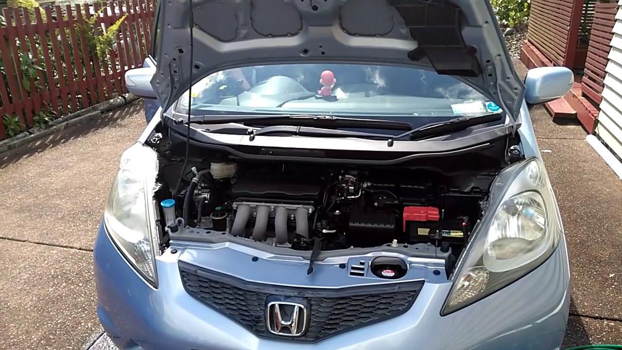 Dead Battery Engine Sound Honda Fit 2008