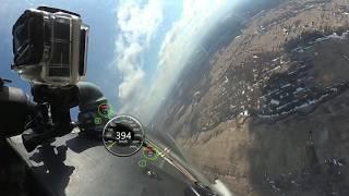 Рассекая весеннее небо - версия 360