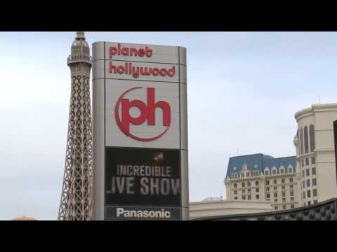 Planet Hollywood Digital Sign
