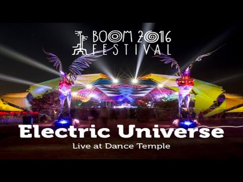 Electric Universe Live Set @ Boom Festival 2016 ᴴᴰ