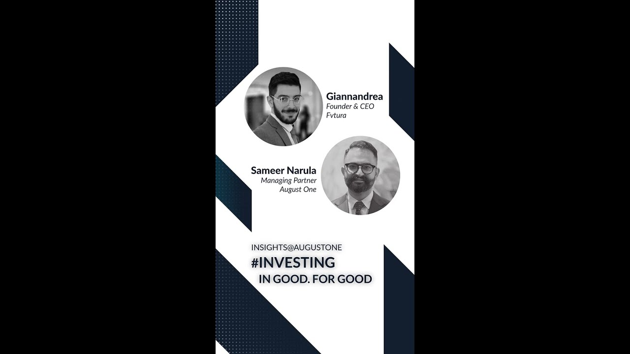 Insights@AugustOne: In conversation with Sameer Narula and Giannandrea Giammanco