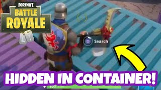 A Secret Hidden Chest in Fortnite Battle Royale!