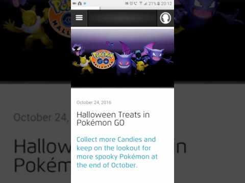 Pokemon GO NEW HALLOWEEN EVENT ARRRGHHHHH!!!! - YouTube