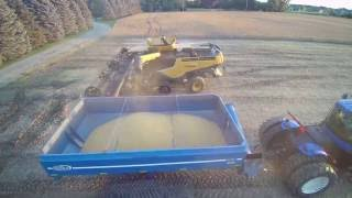 Miller Farms 2016 Soybean Harvest