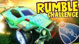 SquiddyPlays - ROCKET LEAGUE!! - RUMBLE CHALLENGE!