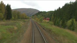 Train Journey to the Norwegian Arctic Circle, FALL