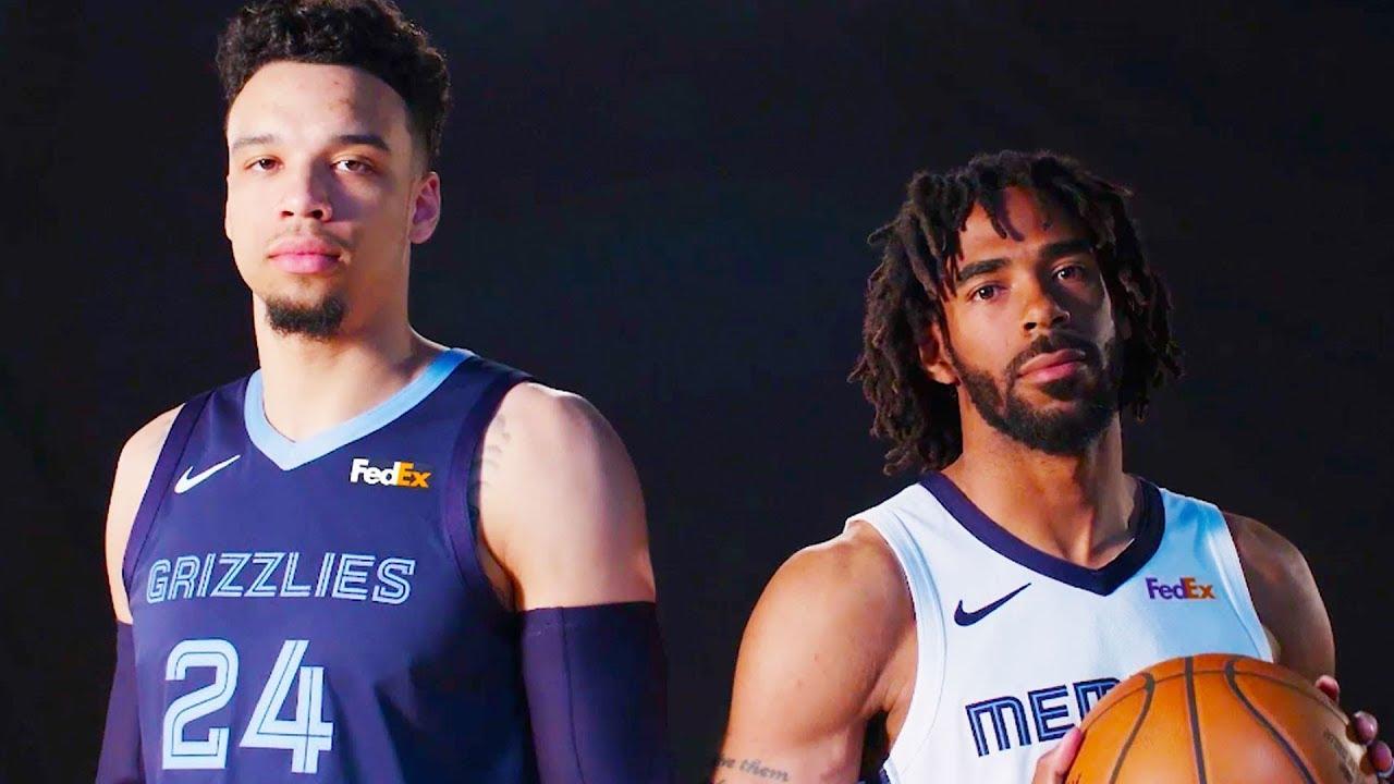 2a3a1d9a2 Memphis Grizzlies Reveal New Uniforms - YouTube