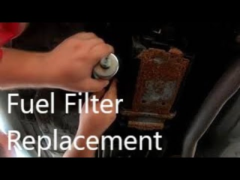 How To Replace a Fuel Filter Buick leSabre