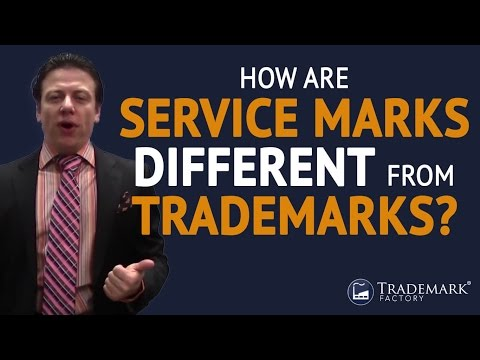 How Are Service Marks Different From Trademarks?   Trademark Factory® FAQ