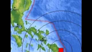 Tsunami warning raised after Magnitude 7.6 earthquake off Samar