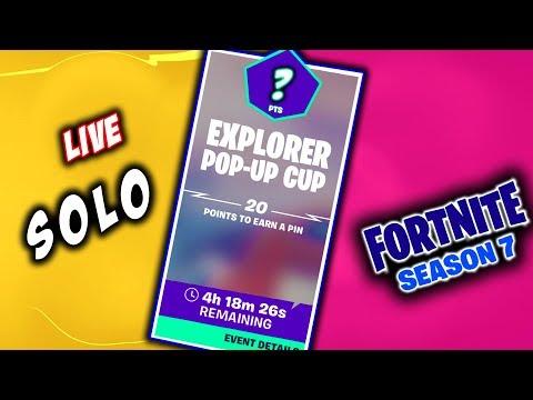 Explorer POP-UP CUP Solo  :  Code