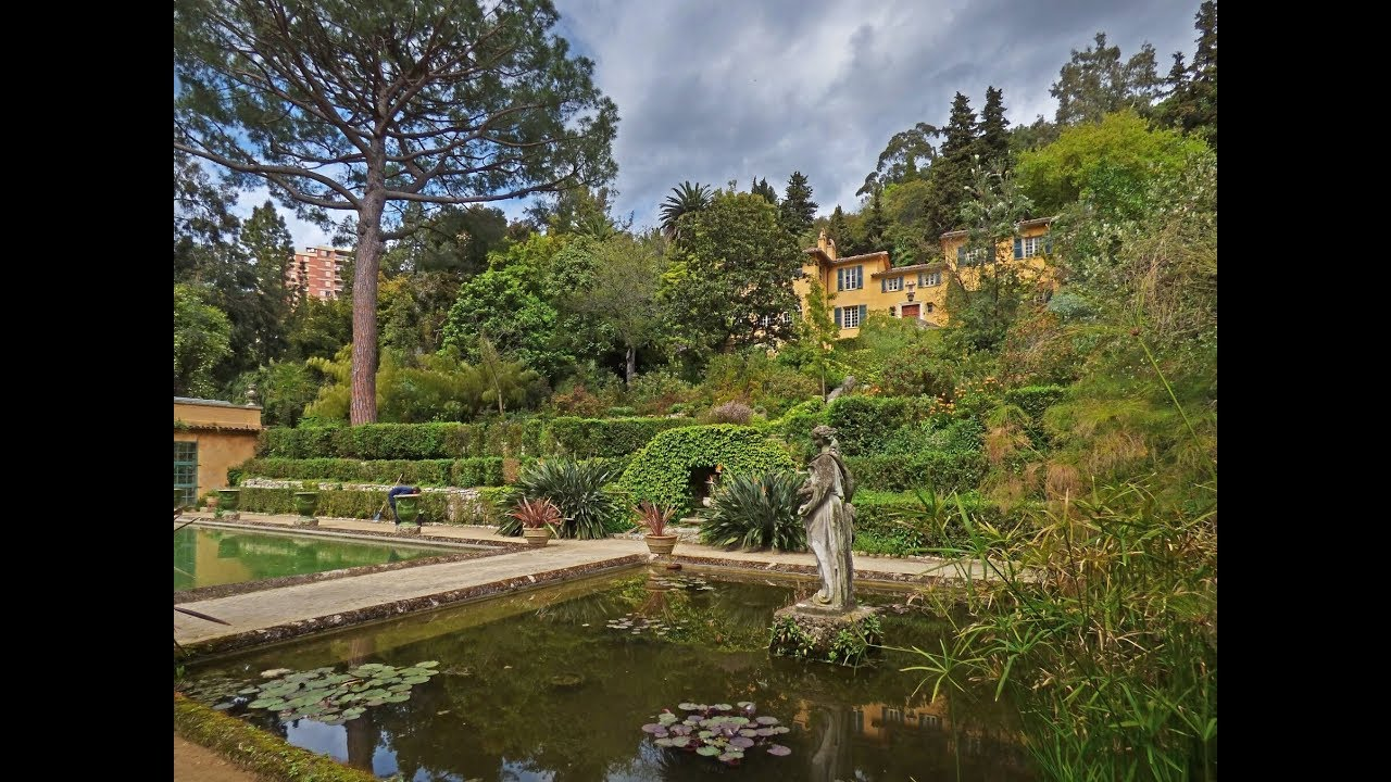 Nice Villa Gardens Of The French Riviera, Nice, France - Travel