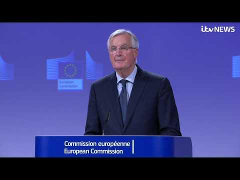 EU chief Brexit negotiator Michel Barnier news conference after UK and EU reach Brexit de | ITV News