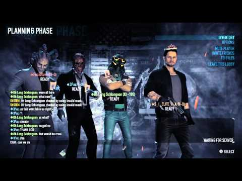 PAYDAY 2 Fun With a Hacker and Gamplay