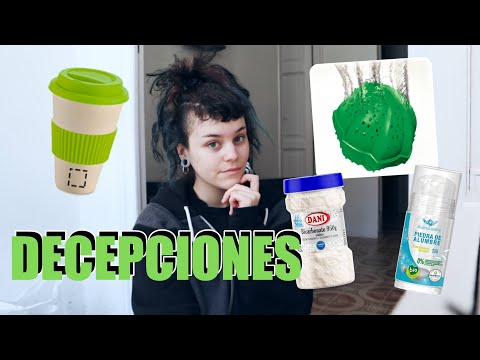DECEPCIONES con productos ZERO WASTE / ORGÁNICOS | Sara Sonder