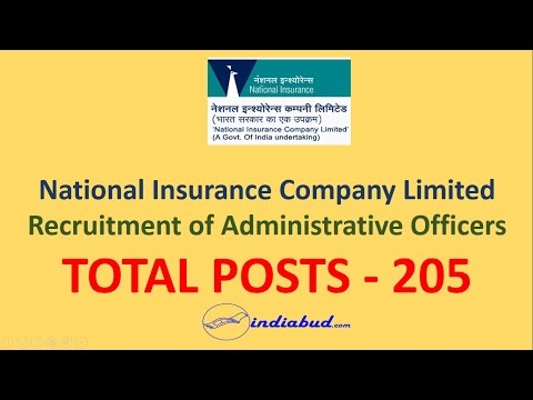 Complete Details about NICL Recruitment for Administrative Officers (Total Posts 205)
