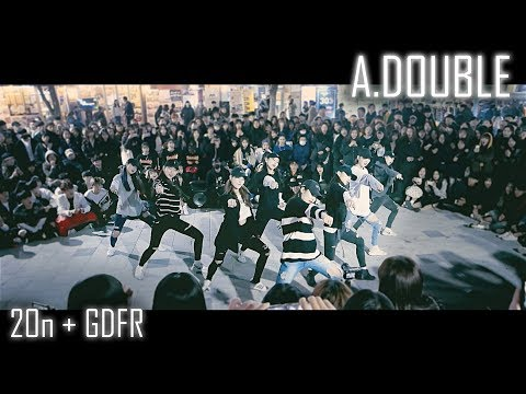 [2017 마지막 버스킹] A.DOUBLE | 2 ON + GDFR | Choreography by Euanflow | Fancam by lEtudel