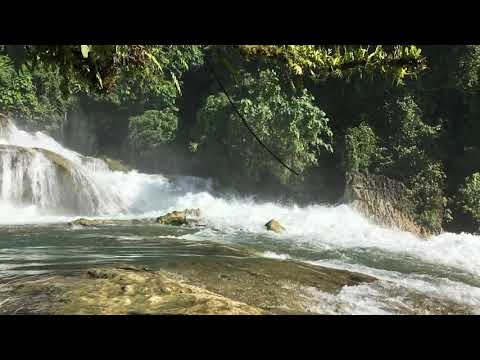 Beautiful Alliwagwag falls, with slo-motion, Southern Philippines