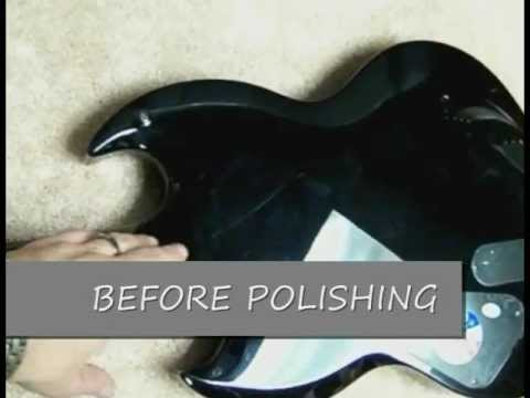 Black Guitars-How to Remove Guitar Scratches & Polish-Player's  Kit-EternaShine-revised