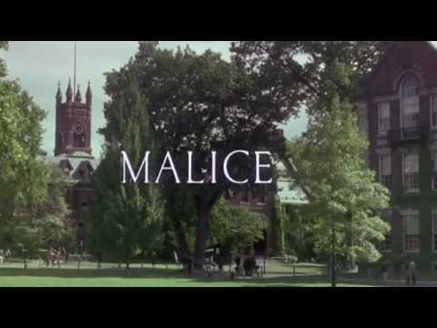 Malice (1993) Opening Titles (Northampton, MA)