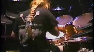 Death + Sean Reinert Drum Cam - Intro + Suicide Machine  10.26.91
