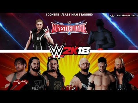 WWE 2K18 - Moi contre ? et The Shield contre The Bálor Club - Matchs au Pif