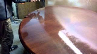 Реставрация стола . Покраска стола .(Реставрация стола . Покраска . Лакировка . Арт-реставратор ., 2014-07-03T12:54:21.000Z)
