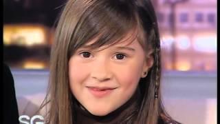 Juanita, hija de Alejo Garcia Pintos cuenta que quiere ser cuando sea grande -Susana Gimenez 2007