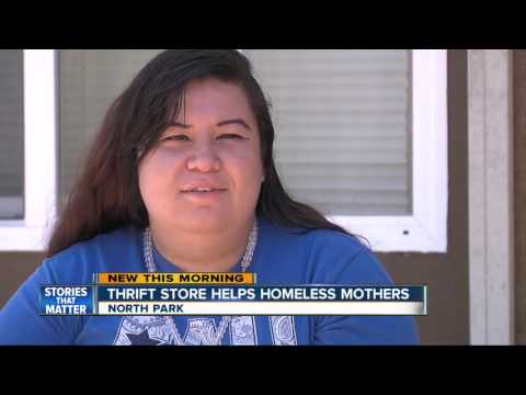 Thrift store in North Park funds homeless shelter for young mothers