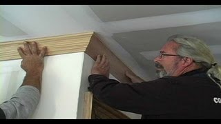 How To Install Crown Molding Along The Ceiling | Ask John The Builder
