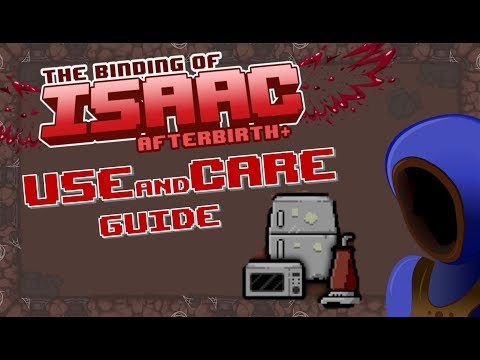 USE AND CARE GUIDE! HILARIOUS BUT USEFUL! :: Binding of Isaac: Afterbirth+ Mod Spotlights