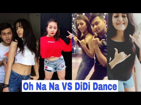 Oh Na Na Dance VS DiDi Dance Musically | Jannat, Mrunal, Aashika, Avneet, Awez Darbar