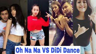 Oh na dance vs didi challenge tiktok musically | jannat zubair mrunal panchal avneet kaur aashika bhatia musical...