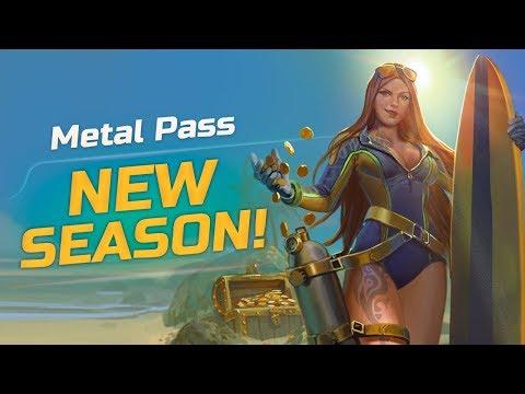 Chancellor e Zanaldinho no Metal Pass Season 5! 🤘💣