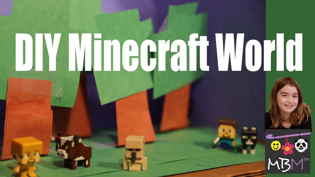 Minecraft diy craft build your own world for mini figures youtube solutioingenieria