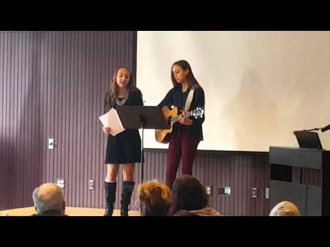 """Great Falls Forum """"Youth Arts Showcase"""" at the Lewiston Public Library (Video 1)"""