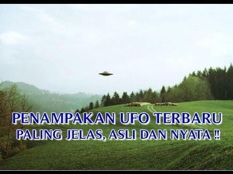 """VIDEO PENAMPAKAN UFO TERBARU """"PALING JELAS ASLI DAN NYATA ..."""